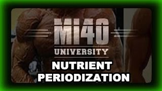 Gain Muscle, Lose Fat, Better Body Composition Tip (Nutrient Periodization)