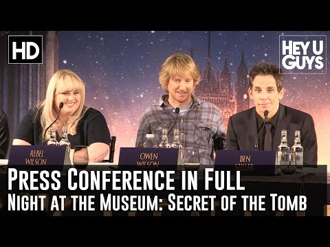Night at the Museum: Secret of the Tomb Press Conference in Full