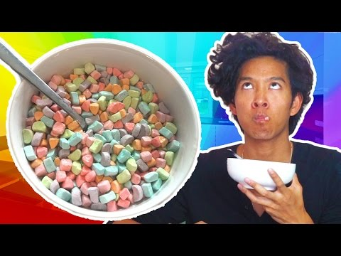 Marshmallow ONLY Lucky Charms Taste Test! 3 Ways!!!
