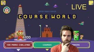 Blind Kaizo Raice, Super Expert & World Domination - Super Mario Maker [LIVE STREAM]