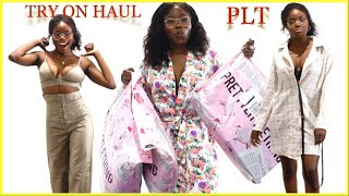HUGE $500 PRETTY LITTLE THING TRY ON HAUL ft some LITTLE MIX MOLLY & MAE COLLECTION | MsElizjay