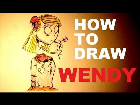 How To Draw Wendy - Don't Starve