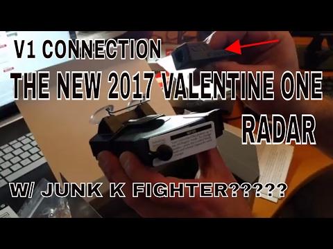 New 2017 Valentine One Radar W/ Junk K Fighter