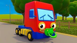 Baby Truck Song (Baby Shark) | Kids Songs | Gecko's Garage | Cartoons and Kids Songs | Moonbug TV