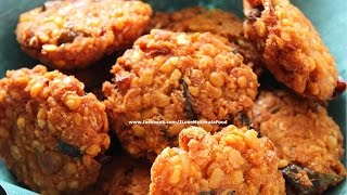 Parippu Vada / Dal Fritters (Kerala Style)- chinnuz