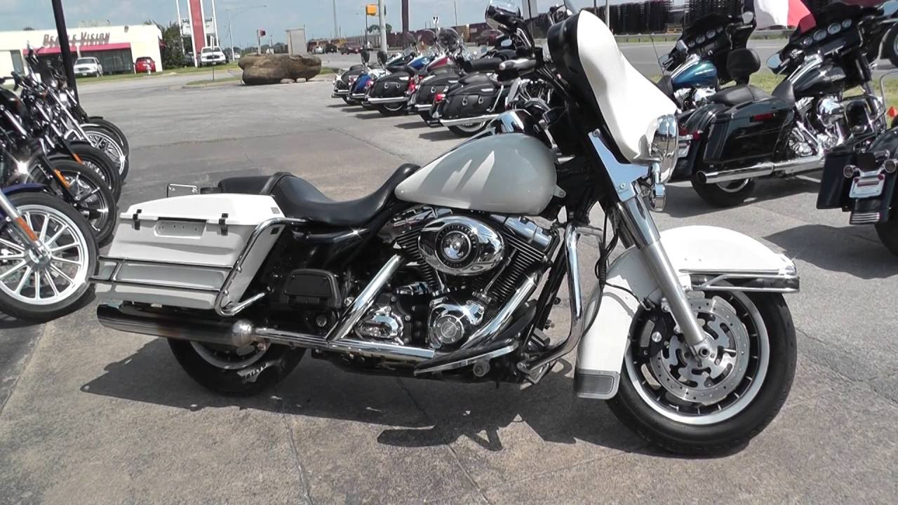 654497 2008 Harley Davidson Electra Glide Police Flhtp Used Motorcycles For You
