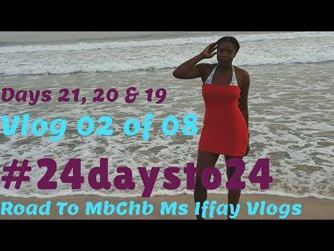 HOLIDAY NAILS, BOJO BEACH & CHRISTMAS PRESENT!! DAYS 21, 20 & 19   24 DAYS TO 24   VLOG 02 OF 08