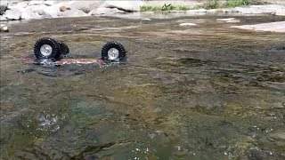 Traxxas TRX4 Ford Bronco Valley Rock Crawling