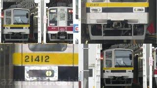 【東武20400系 21412F スカート復活!修理完了が近いか?】東武20400系 21412Fは「休車」3か月経過