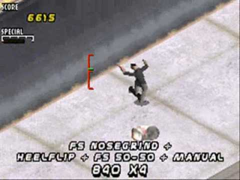 Image result for tony hawks pro skater 2 gba