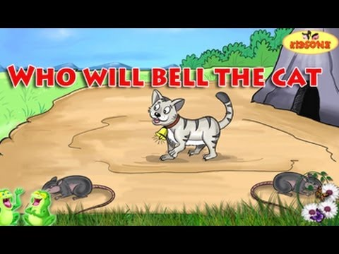 Who Will Bell The Cat || English Animated Moral Stories || KidsOne