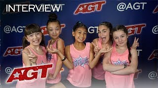Interview: GFORCE Wants YOU To DREAM BIG! - America's Got Talent 2019