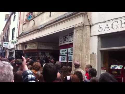 Billy Bragg at Raves Frome The Grave in Frome - Record Store Day 2014