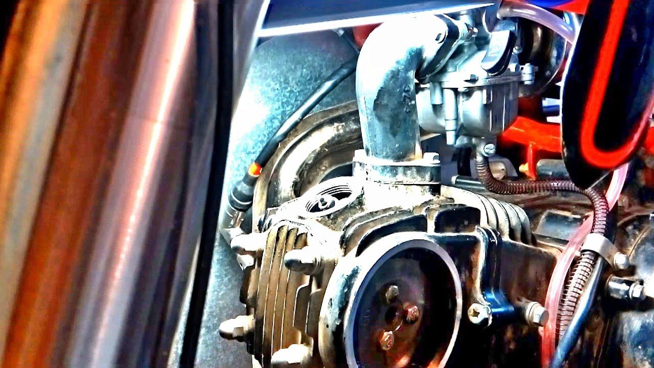 Регулировка клапанов Irbis TTR 125