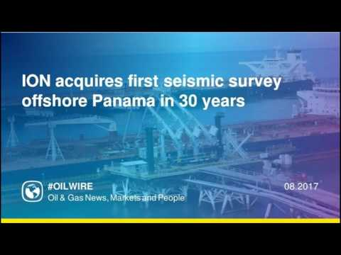 ION acquires first seismic survey offshore Panama in 30 years