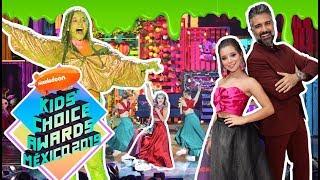 Download lagu Canté y Fuí Conductora llena de SLIME en Los KIDS CHOICE AWARDS MP3