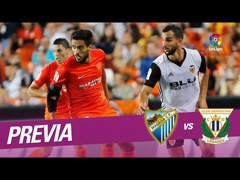 Previa Málaga CF vs CD Leganés