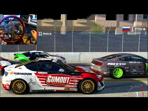 FM6 GoPro Online Long Beach Battles FD Cars ONLY w/Crew