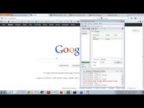 Selenium Test Automation.wmv