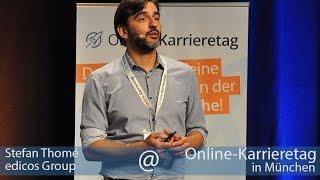 "Stefan Thomé, edicos Group: ""Gestalte mit edicos den digitalen Wandel für Unternehmen!"
