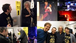 Queen + Adam Lambert Backstage Hallenstadion Zürich 19. Feb. 2015