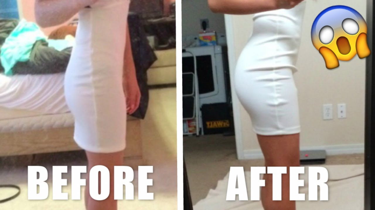 Image result for before and after butt