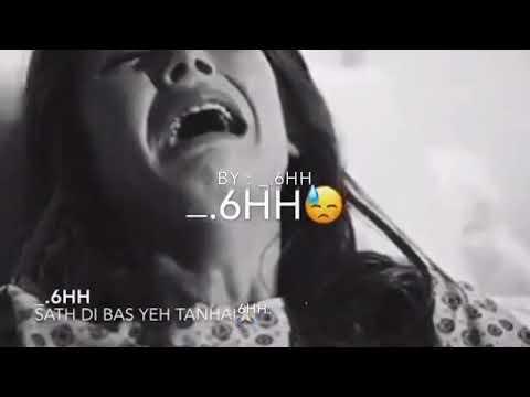 Kr gyi Kya bewafai sath thi bs mere tanhai