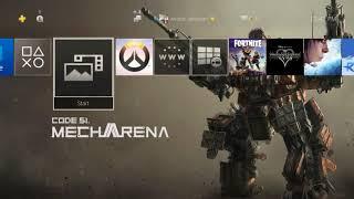Code51 Mecha Arena Theme - Ps4 Theme