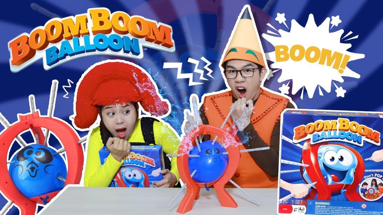Boom Boom Balloon! Thách Đập Bong Bóng Và Hình Phạt Từ Fan  | Bút Chì Em Vàng | Hi Pencil Studio