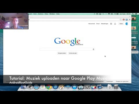 Tutorial: Muziek uploaden naar Google Play Music (Dutch)