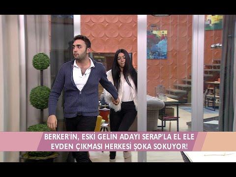 Kısmetse Olur - Berker, Serap'ın elinden tutup çıkınca Gözde krize giriyor!