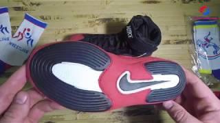 БОРЦОВКИ, БОКСЕРКИ - Nike Inflict 3 Wrestling Shoes! Борцовки найк обзор.