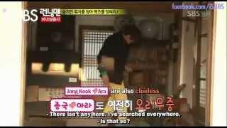 Go Ara with Kim Jong Kook Ep:80
