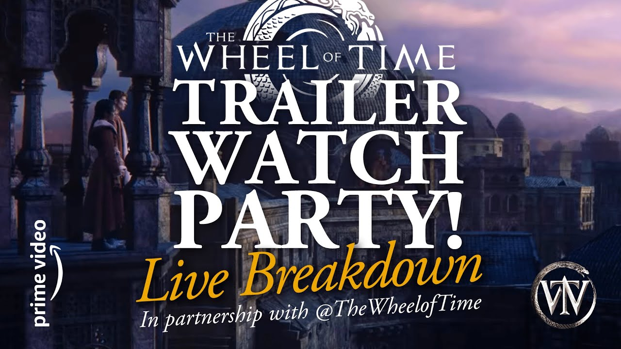 Download Wheel of Time TRAILER WATCH PARTY & Live Breakdown!