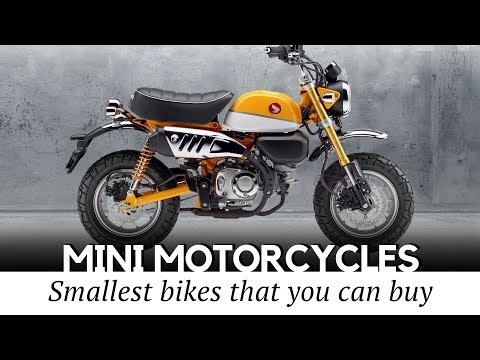 10 Smallest Motorcycles and Mini Bikes with Engines that You Can Actually Buy