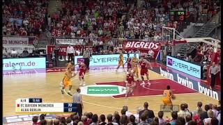 Beko BBL: Playoff-Finale 1: FCBB - ALBA Berlin 88:81