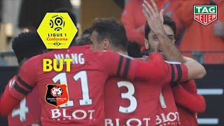 But Benjamin ANDRE (7') / Stade Rennais FC - Olympique de Marseille (1-1)  (SRFC-OM)/ 2018-19
