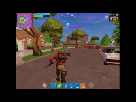 My First Fortnite Stream| Fortnite iOS| No Cometary| Only Music
