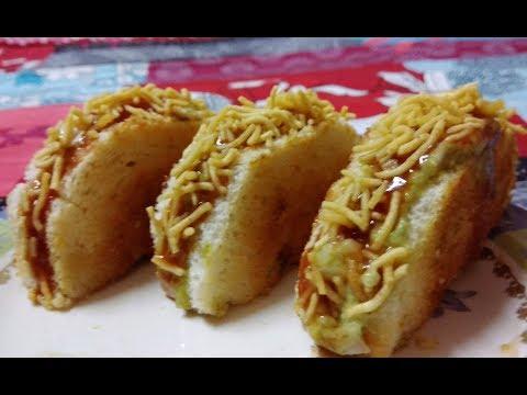 Crispy Healthy Bread Toast | Green Sandwich | Instant Breakfast | Healthy Breakfast Recipe In Hindi
