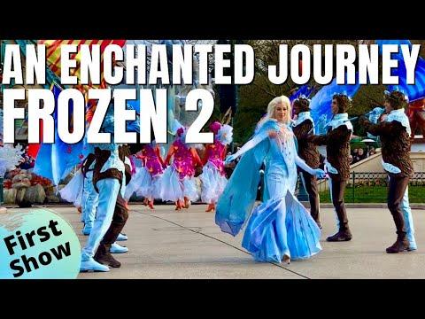Frozen 2: An Enchanted Journey / Disneyland Paris 2020 *First Show*