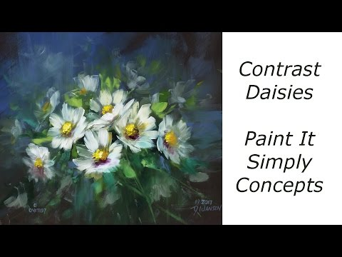 Contrast Daisies
