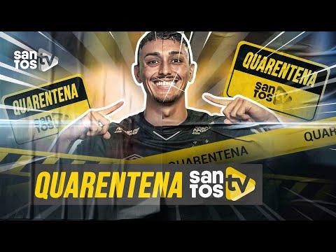 EP. 01| #QUARENTENA (😷) SANTOS TV