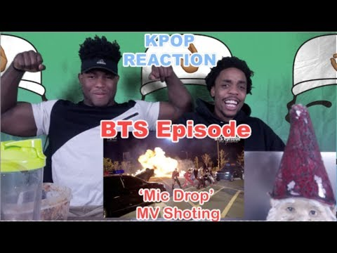 BTS (방탄소년단) 'MIC Drop' MV Shooting [EPISODE]    REACTION