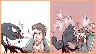 Funny Venom Comics: CHOCOLATE!!