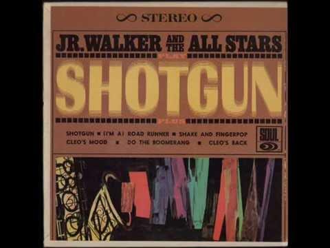 JR WALKER & THE ALL STARS - SHAKE AND FINGERPOP - LITTLE LP SHOTGUN - SOUL S 60701
