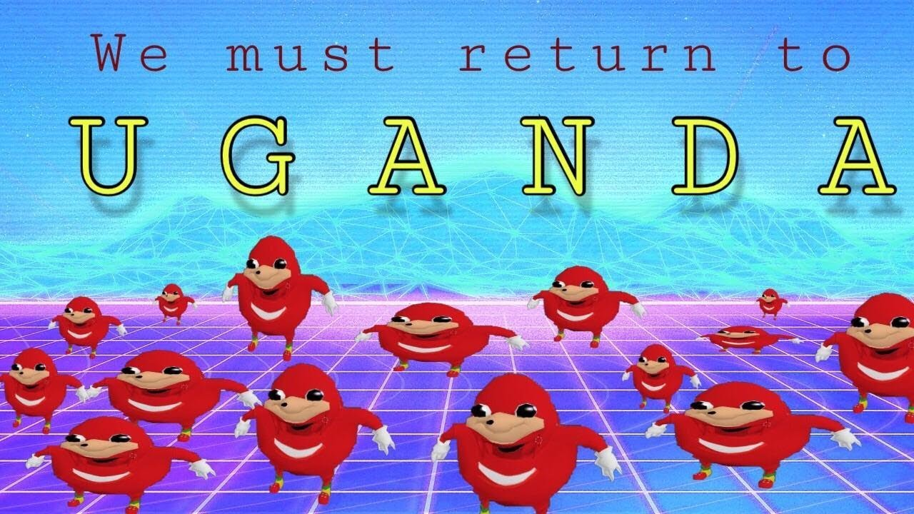 Ugandan Knuckles - Encyclopedia Dramatica