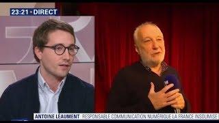 Coup de gueule d'Antoine Léaument (FI) après les propos de François Berléand sur les Gilets Jaunes