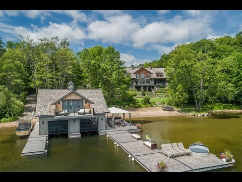 Majestic Lakefront Mansion In Muskoka, Ontario, Canada | Sotheby's International Realty