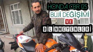 HONDA CBR 125 ''BUJI'' DEGISIMI