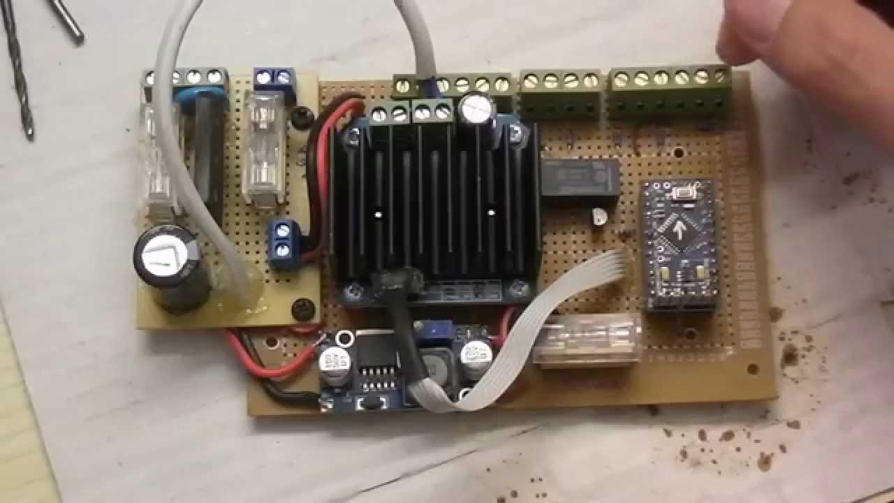 Sliding Gate Controller Fix Part 1 Youtube Wiring Diagram